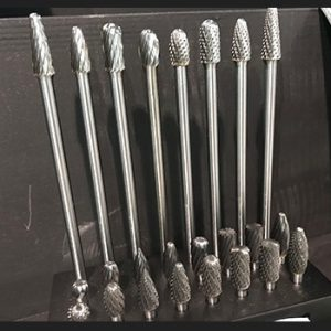 "Drill bit dude Carbide Burrs 24 Piece1/4"" Shank Aluminum Cutting Set"